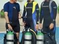Divemaster internship Europe Divemasters off for a dive