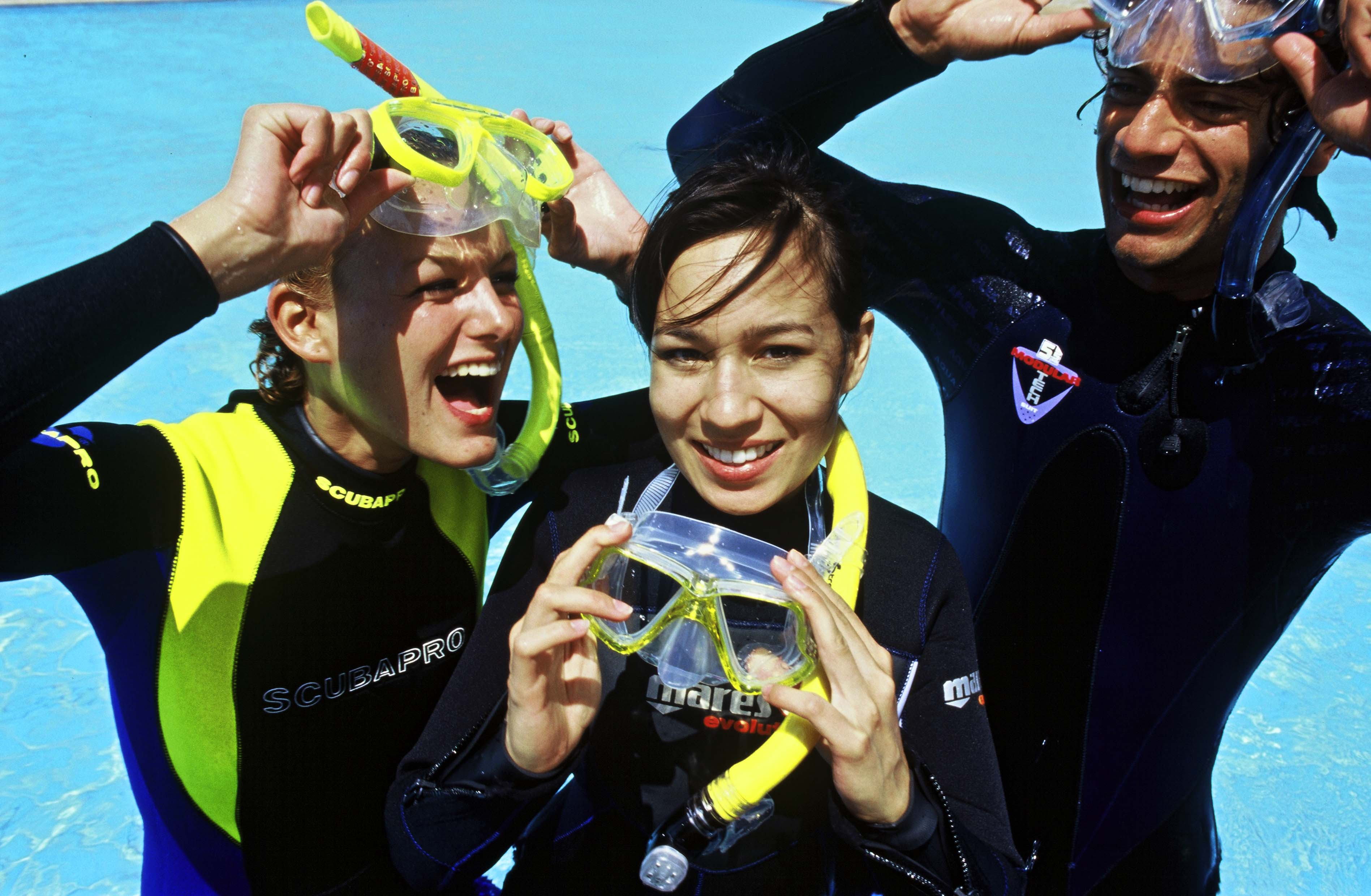 Divemaster internship Europe Divers and Divemaster interns