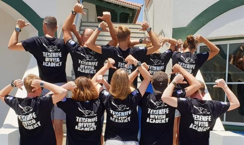 PADI DIvemaster internship Tenerife