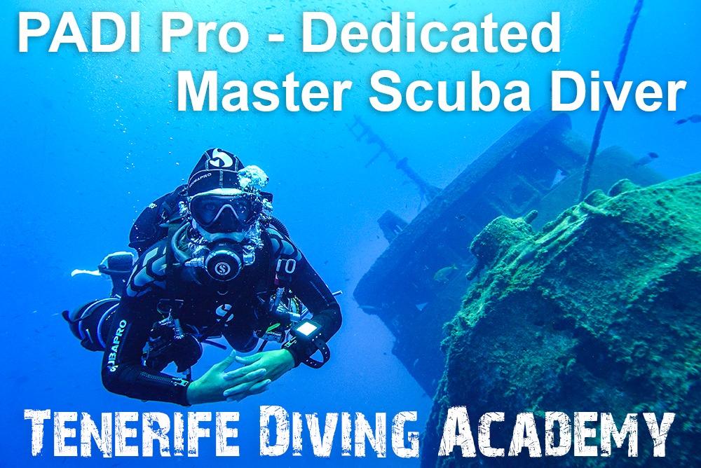 PADI Pro Master Scuba Diver